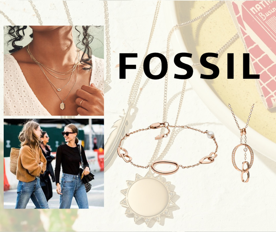 Gioielli Fossil